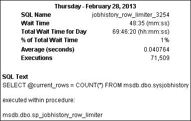 jobhistory row limiter